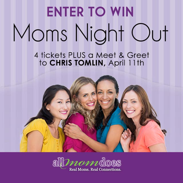 ENTER TO WIN 4 tickets & the chance to meet Chris Tomlin!