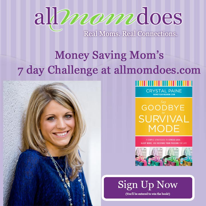 Money Saving Mom's 7-Day Challenge: Join Me!