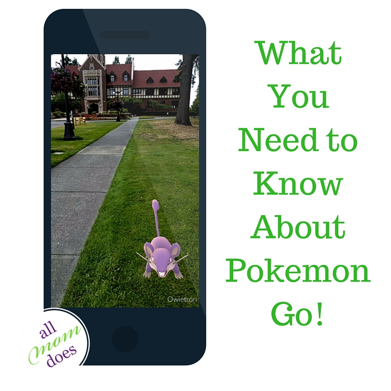 What You Need To Know About Pokemon Go!