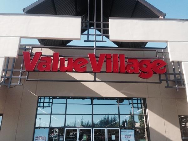 Bargain Shopping Fun at Value Village