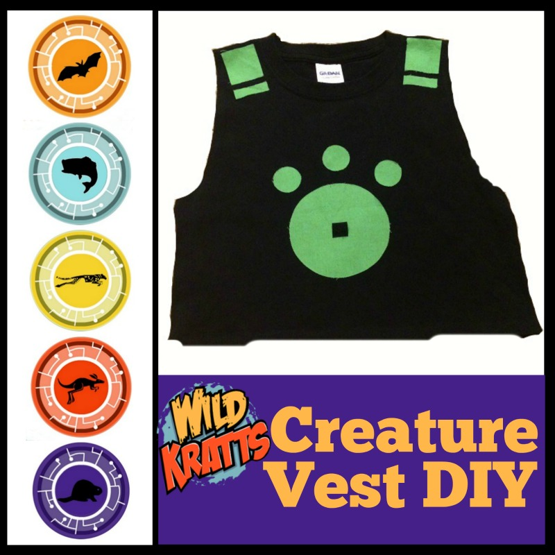 Wild Kratts Creature Power Vest (Party & Costume Idea!)