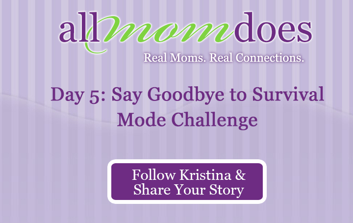 Day 5: Say Goodbye to Survival Mode Challenge