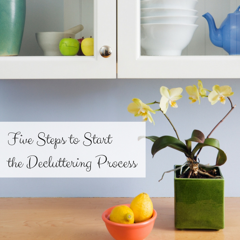 Five Steps to Start the Decluttering Process