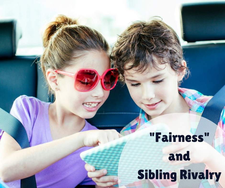 'Fairness' and Sibling Rivalry