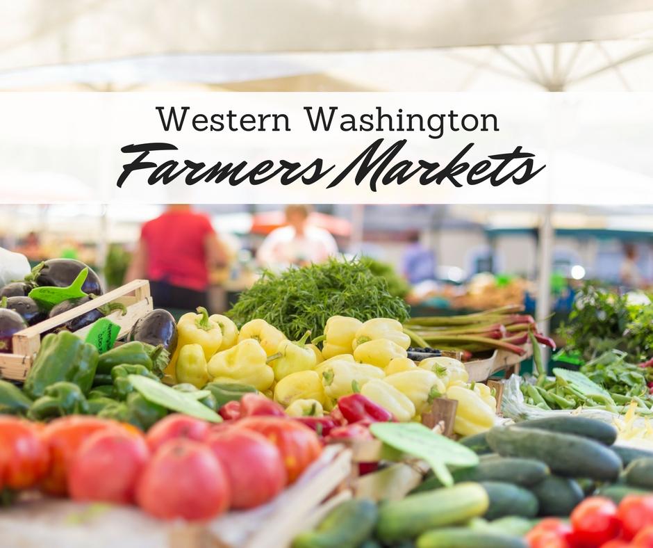 Western Washington Farmers Markets