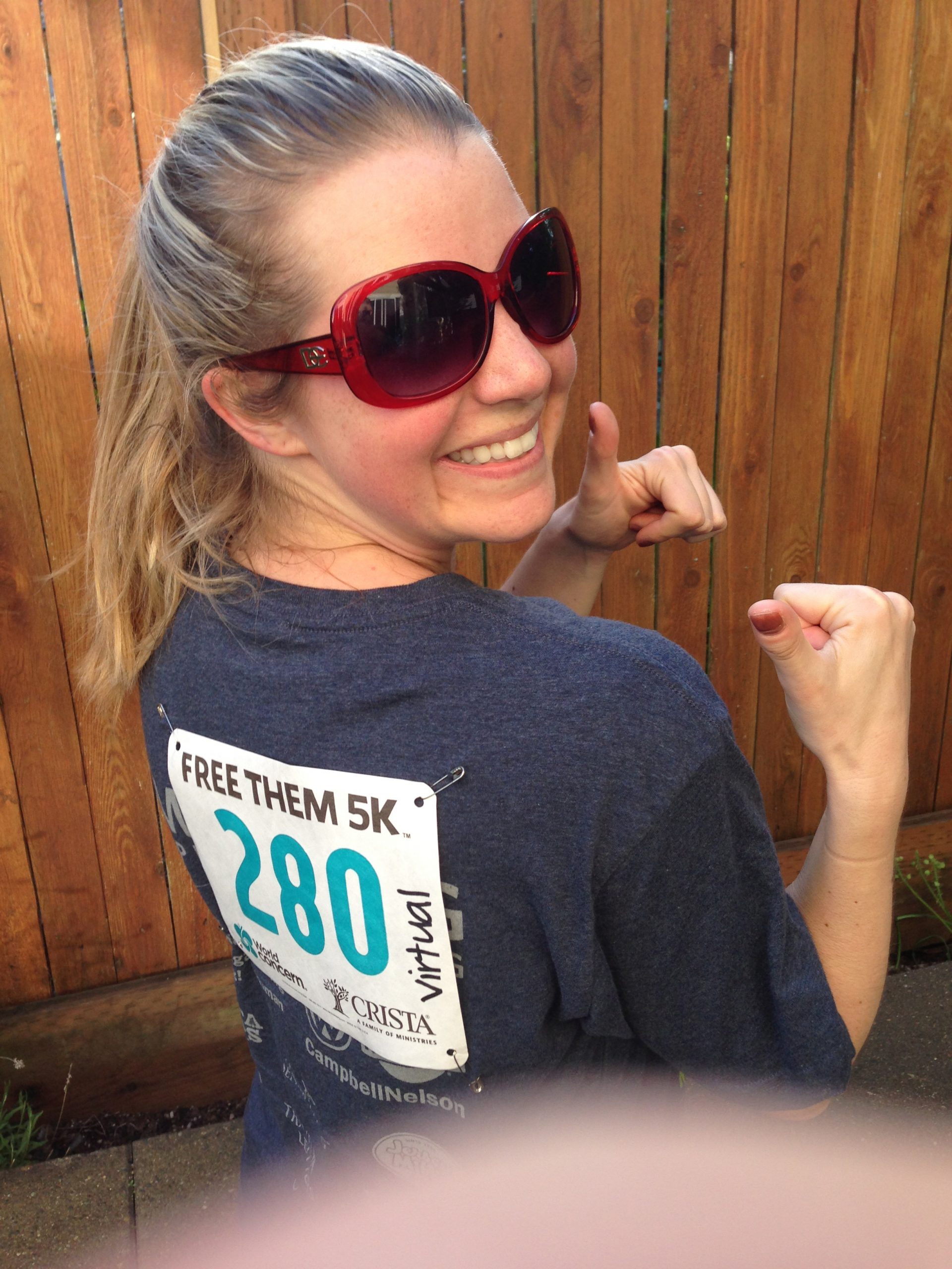 Stephanie's Virtual 5K - Sign up Today!