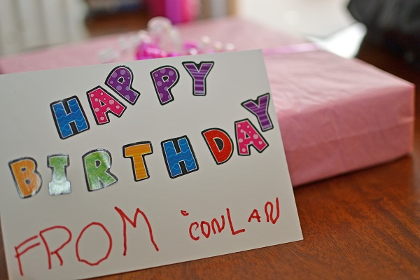 Kid Craft Project: Wrapping Birthday Gifts