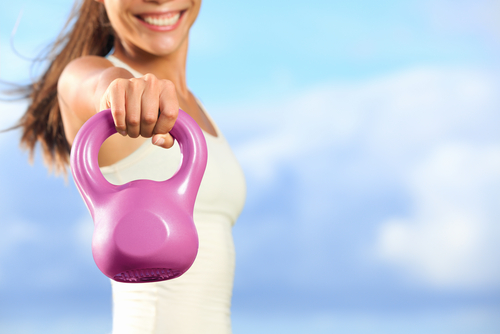 Stephanie's Kettle Bell Challenge