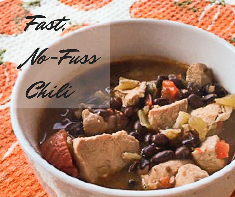 Fast, No-Fuss Chili