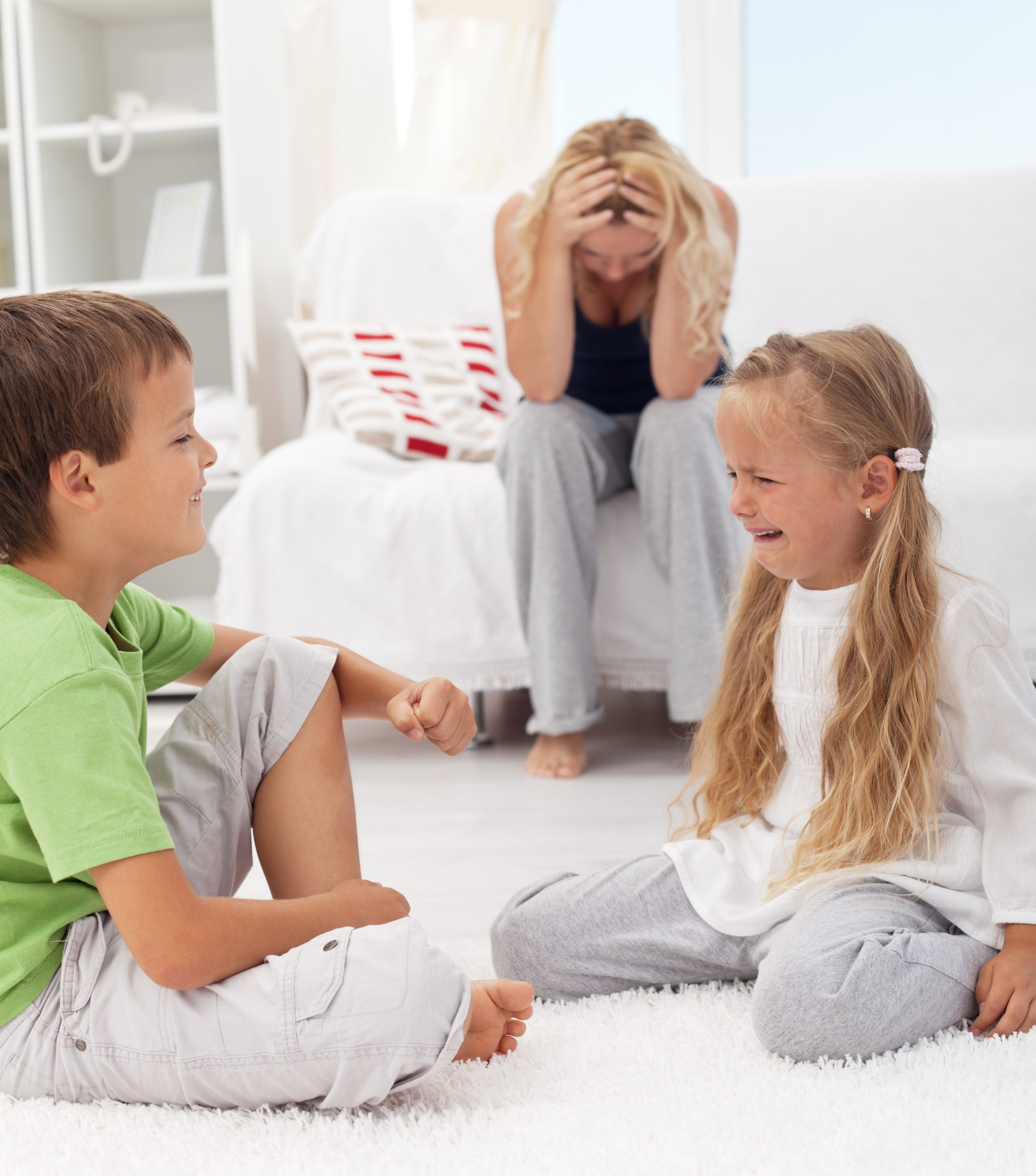 Raising Up Siblings to Love Not Fight