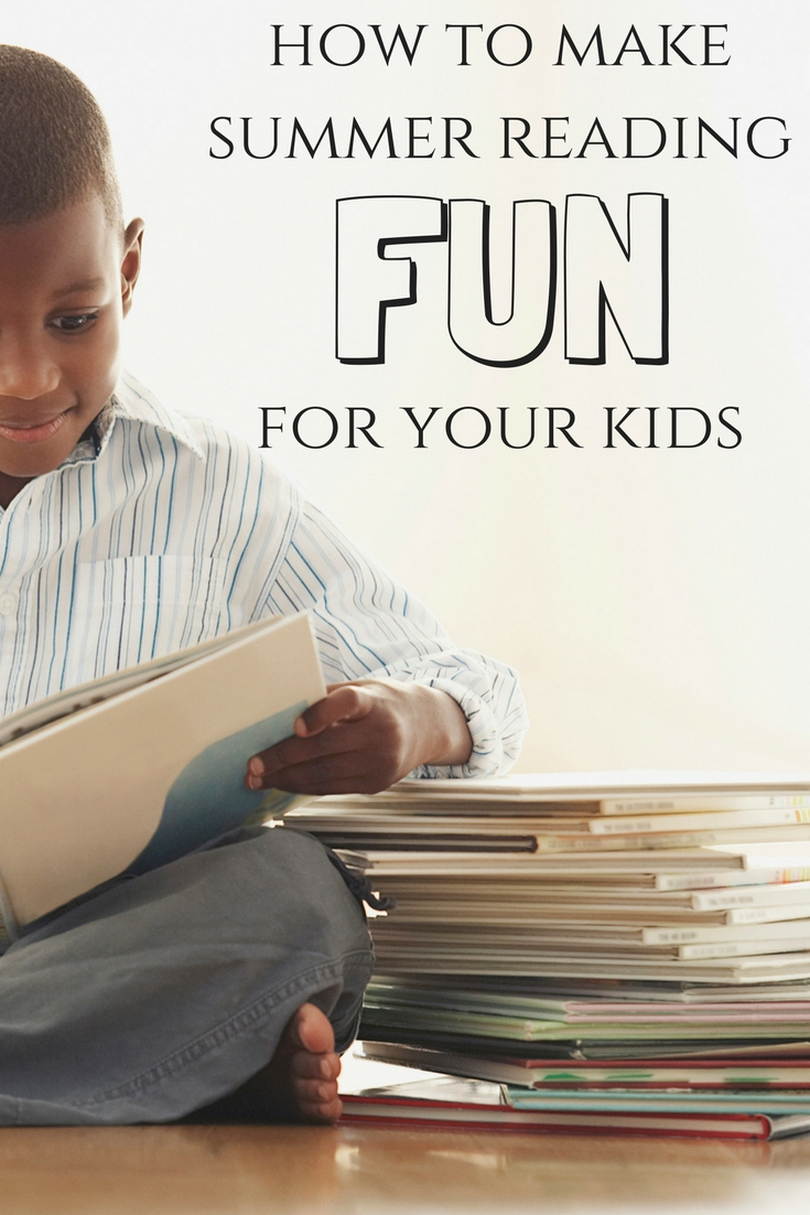 Tips to make summer reading fun for kids.