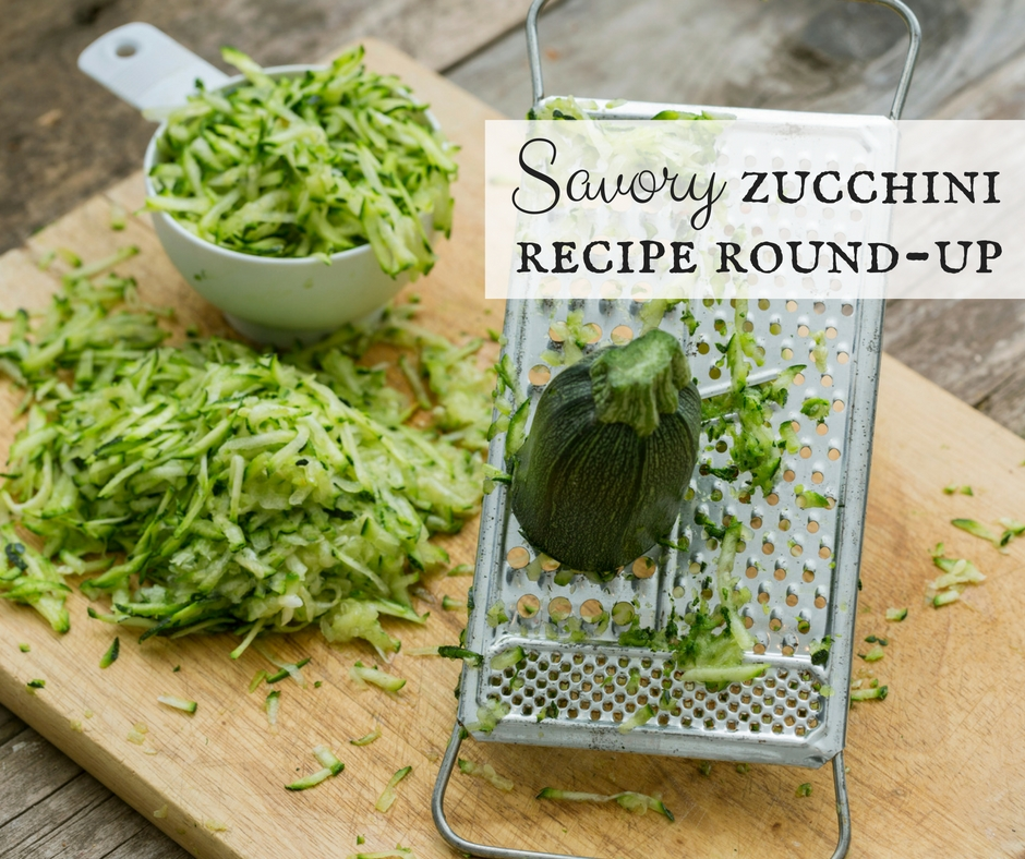 Savory Zucchini Recipe Round-Up
