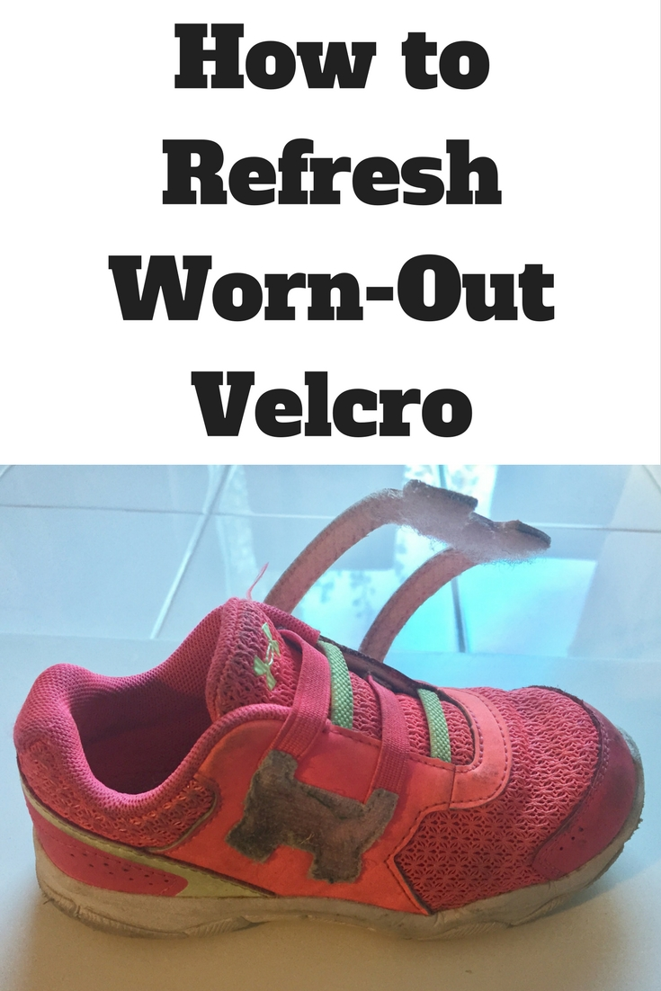 Velcro not sticking? Here's how to refresh worn-out velcro and make velcro stick again.