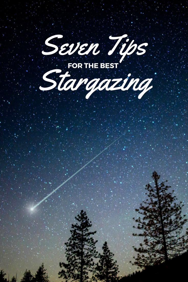 Tips for stargazing with kids.