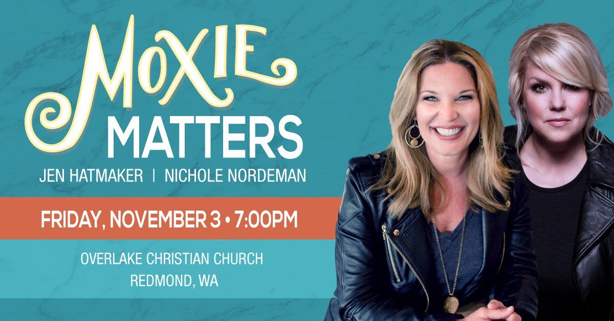 Moxie Matters Tour Comes to Redmond on Nov. 3rd.