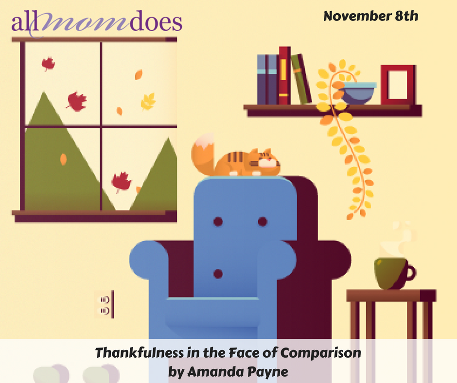 Thankfulness In The Face of Comparison