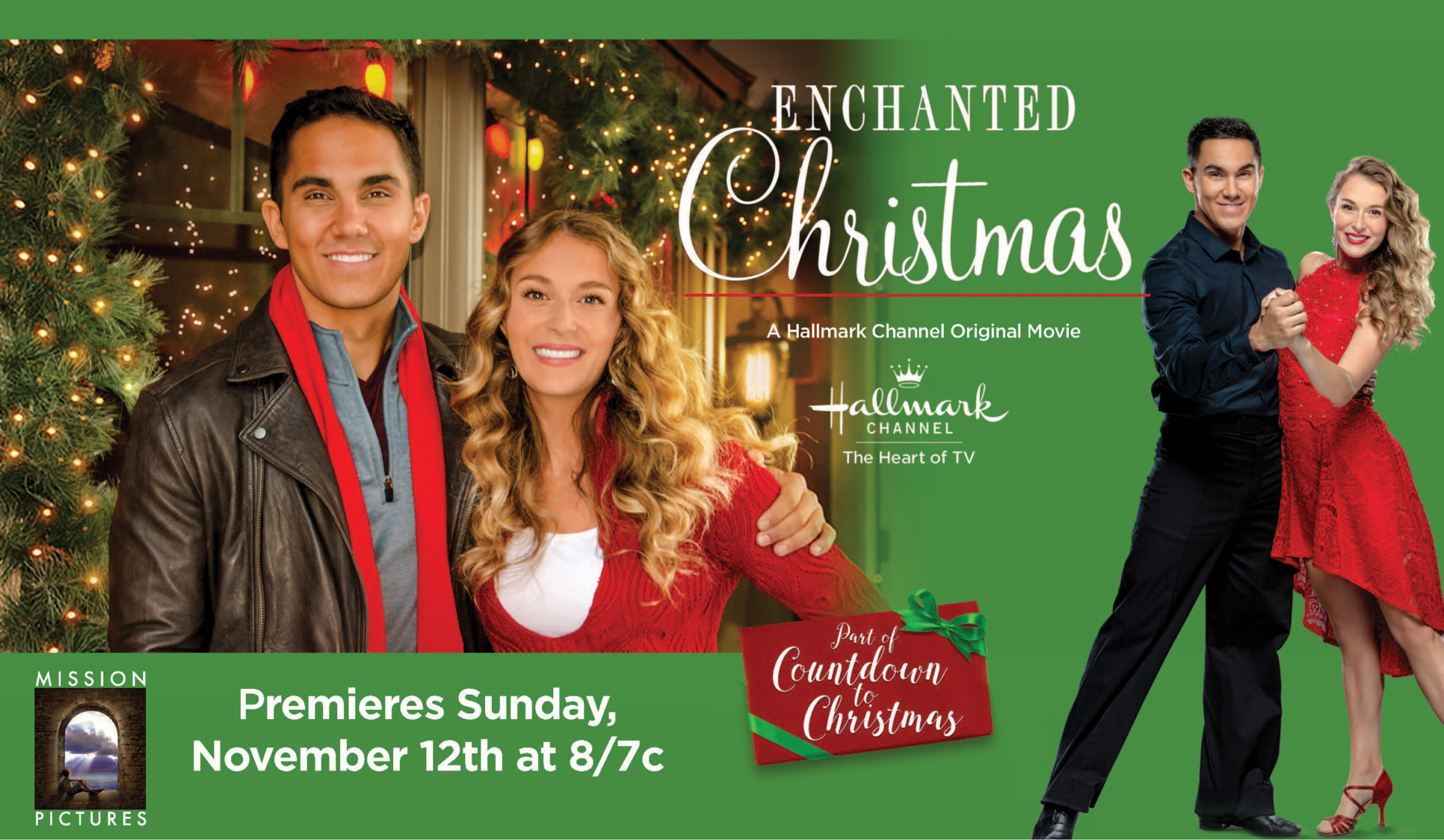 EXCLUSIVE interview with Carlos & Alexa PenaVega of Hallmark Channel's Enchanted Christmas