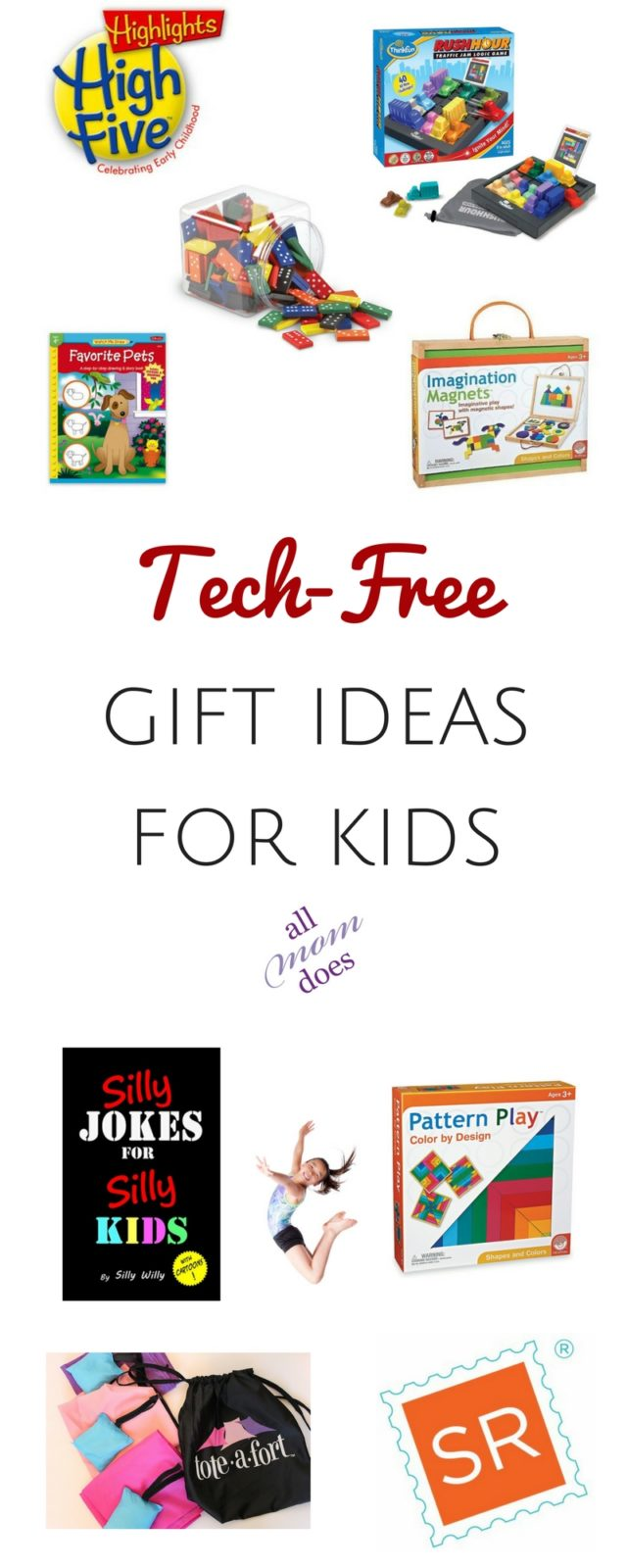 Christmas gift ideas for kids - screen free, technology free #christmasgifts #christmas #giftideas
