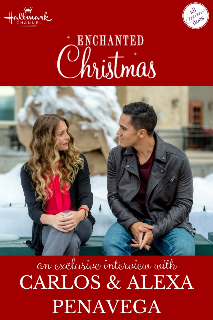 an exclusive interview with hallmark channel christmas movie stars carlos and alexa penavega hallmarkchannel
