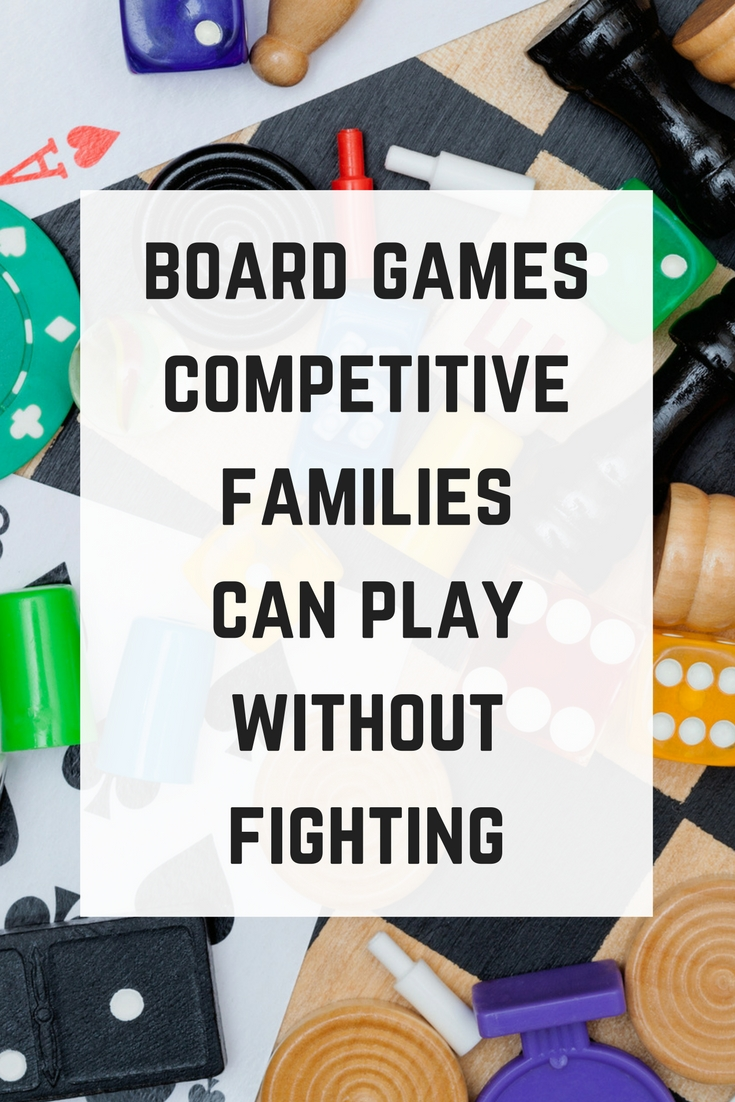 Board games for competitive families. #boardgames