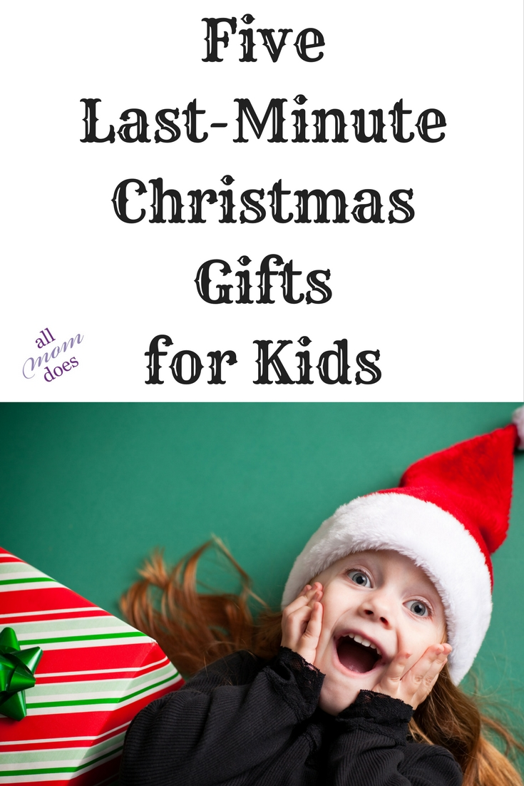 Last minute Christmas gift ideas for kids. #christmasgift #giftideas