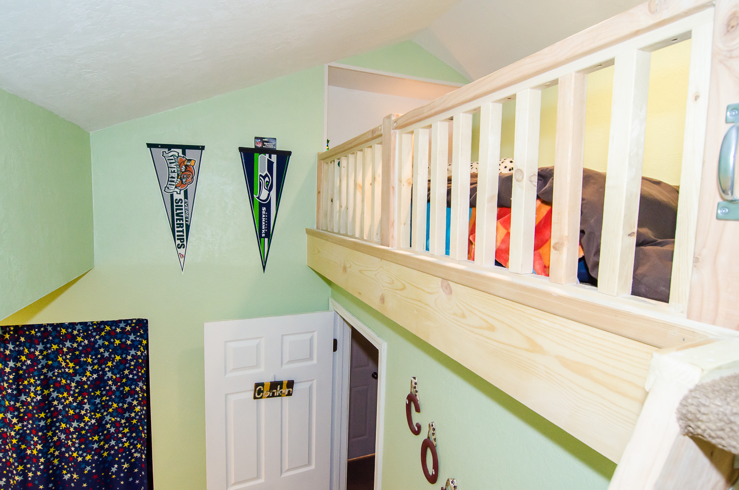 The Perfect Solution for Small Bedrooms: Built-In Attic Space Loft (DIY Project)