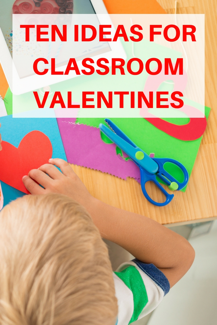 Cute and easy ideas for school classroom valentines.