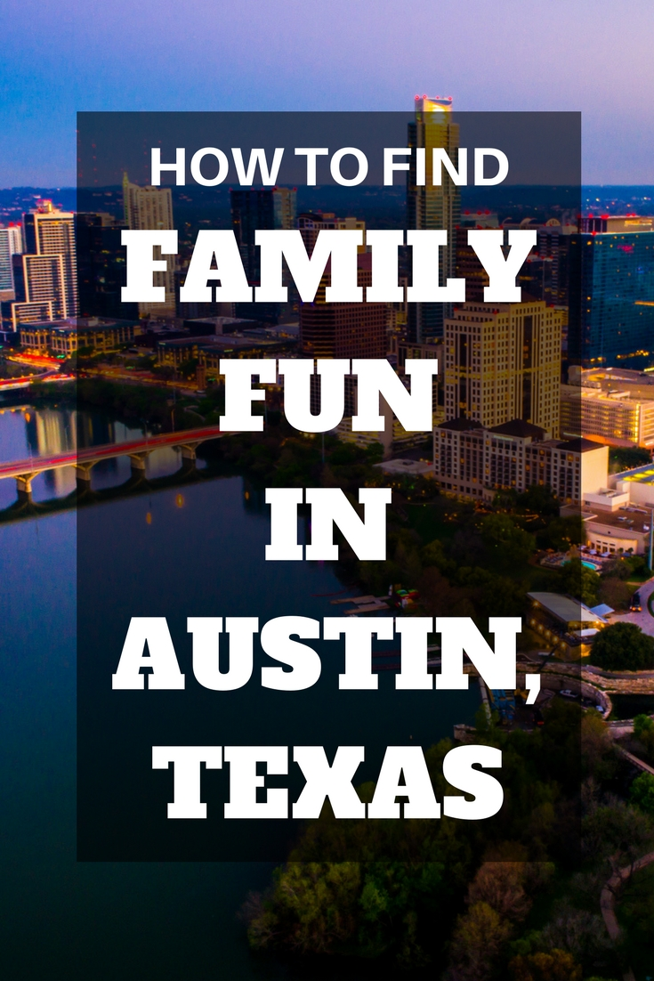 Family activities and things to do for kids in Austin, Texas. #austin