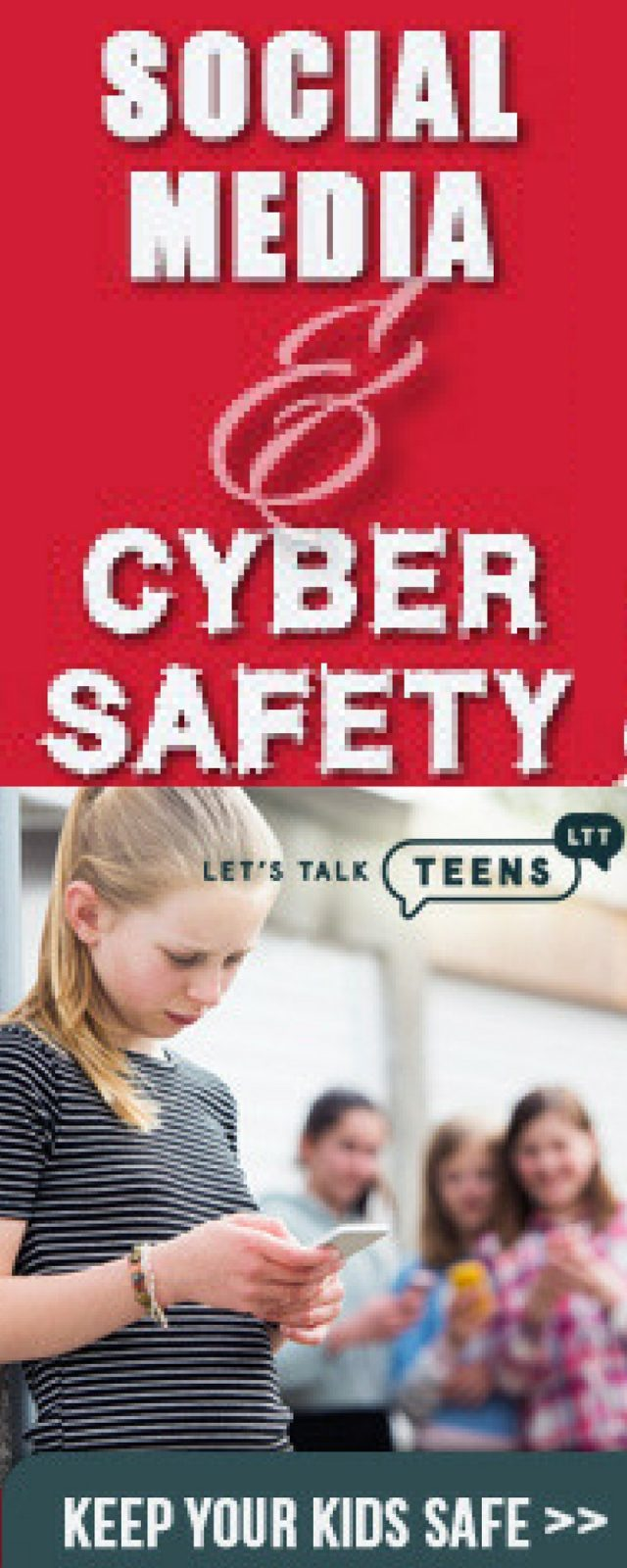 Internet Safety for Kids and Teens - Keep your child safe on social media and the internet. #socialmedia #teensandtechnology #cyberbullying