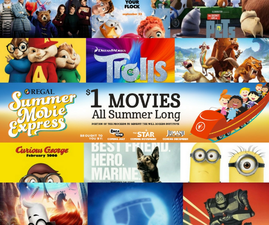 $1 Movies All Summer Long {2018 Schedule}