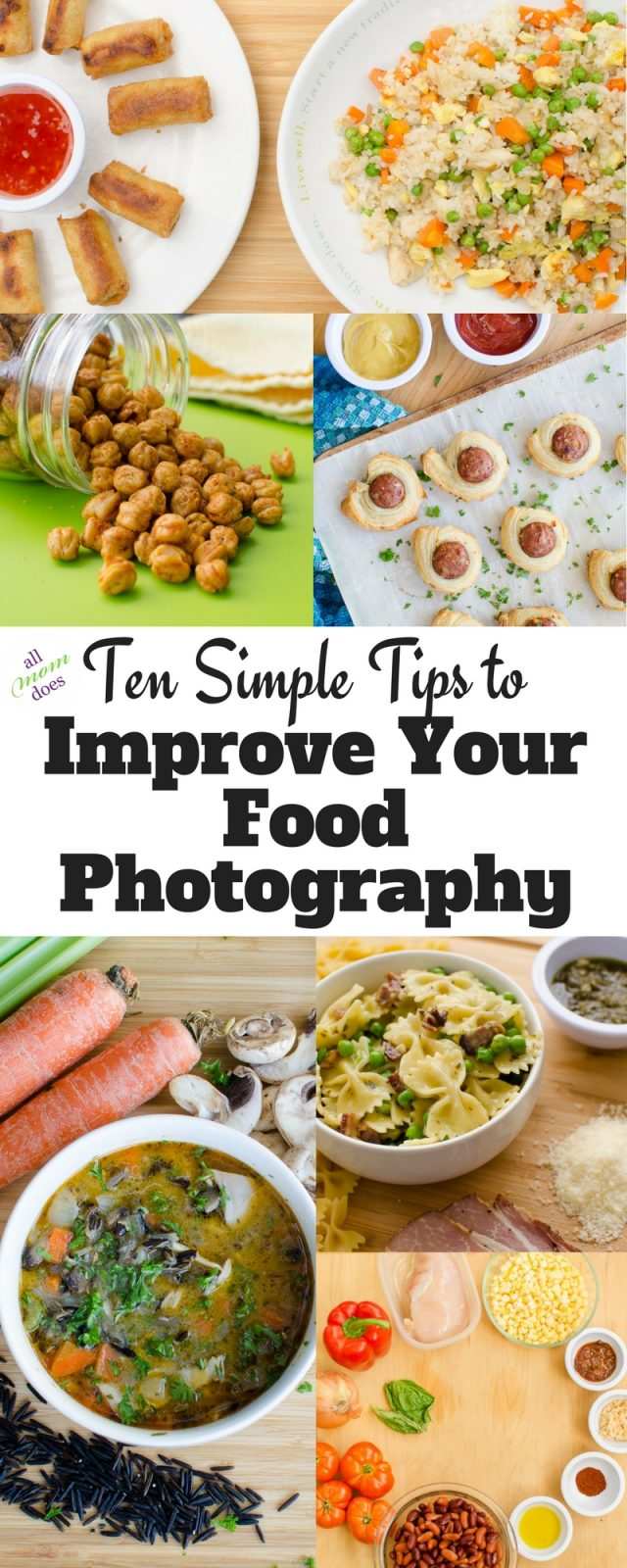 Food Photography Tips - Take better pictures of your food. #photography #foodphotography #foodblogger