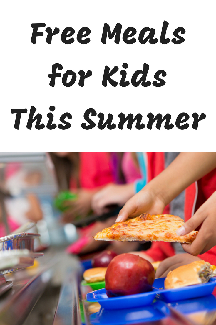 Free Summer Meals for Kids #summermeals #freefood #foodhelp #fighthunger