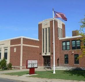 THE FORMER WEST HIGH SCHOOL IN AUBURN