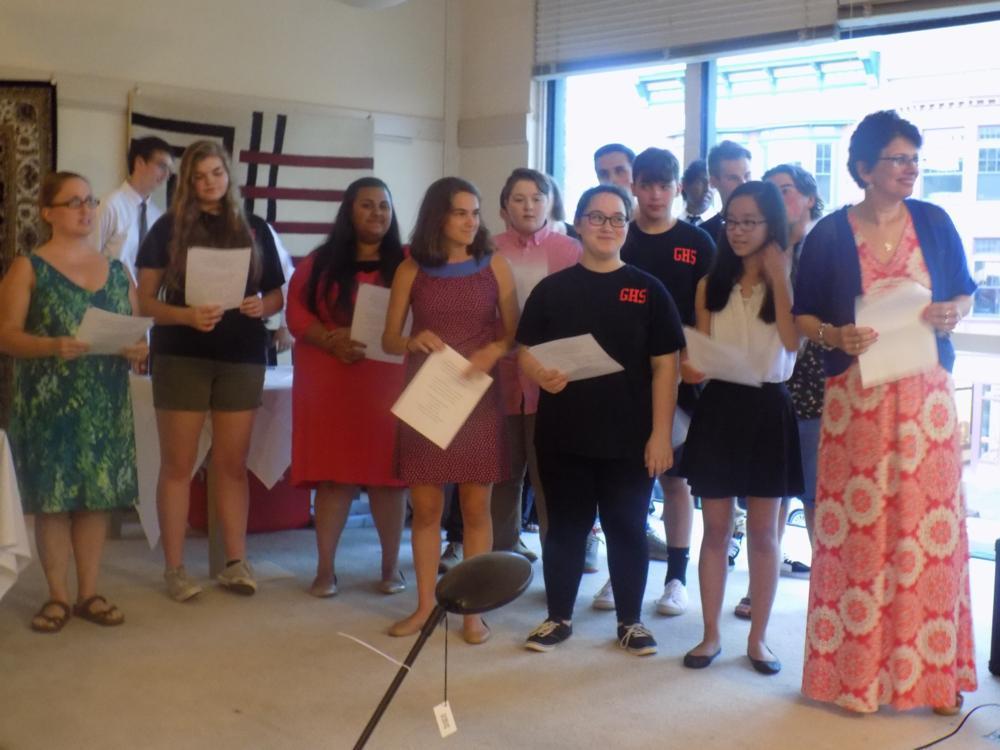 THE GENEVA HIGH VARSITY SINGERS