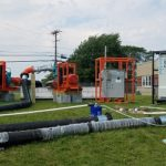 Town of Owasco's temporary carbon filtration system