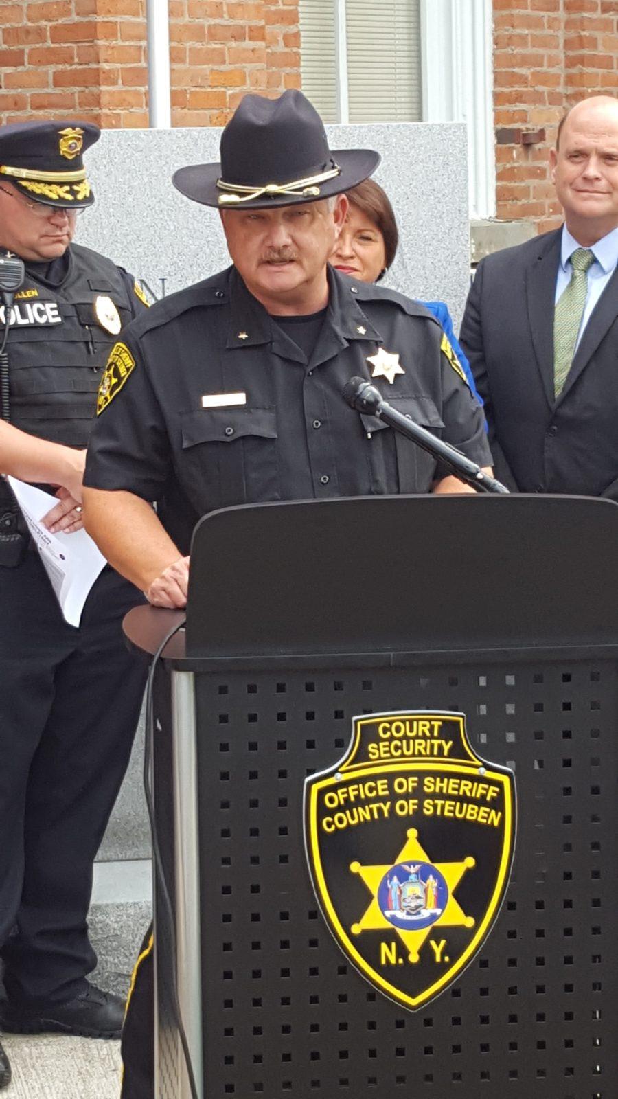 STEUBEN COUNTY SHERIFF JAMES ALLARD