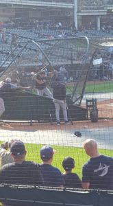 AARON JUDGE TAKING BP