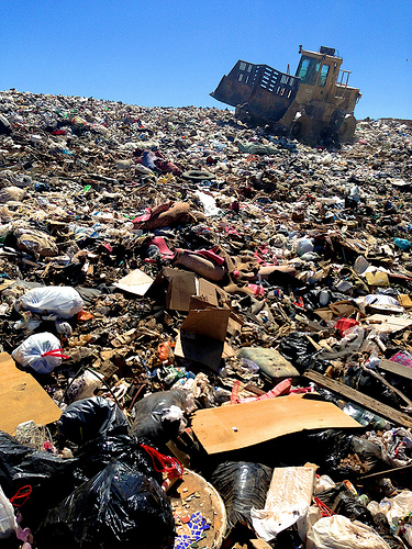 Extra Waste for Extra Cash at Chemung County Landfill