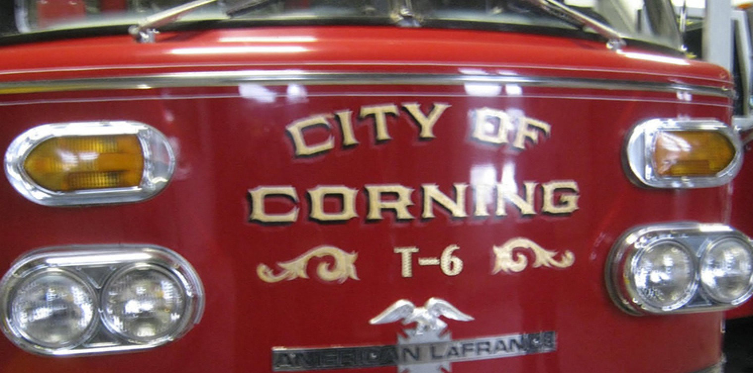 Corning Fire Department to Purchase New Truck