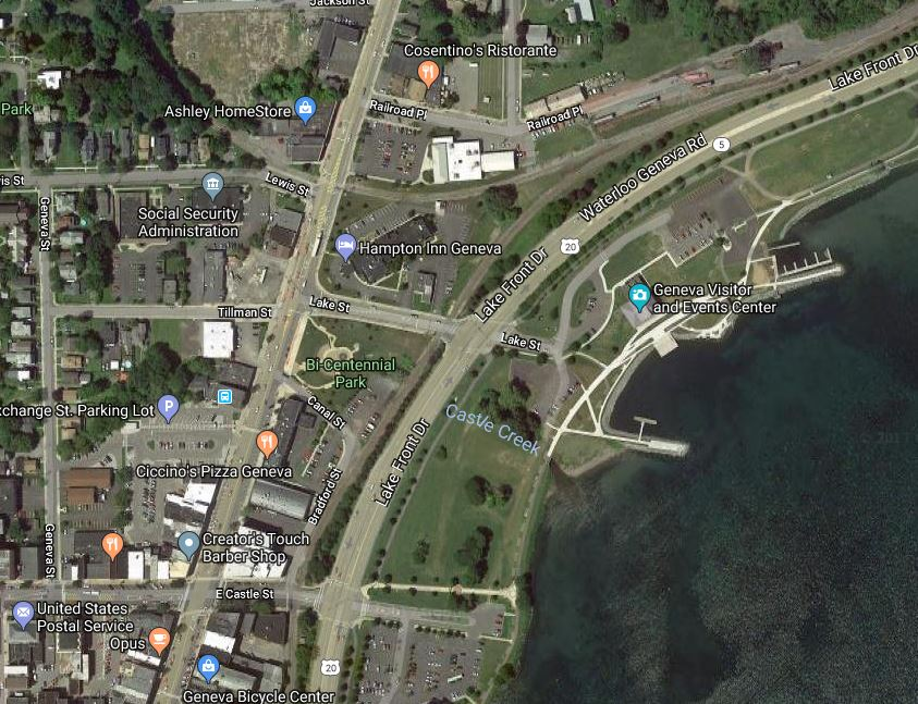 Engineering Work For 5&20 Make Over On Geneva's Lakefront Could Start In The Spring