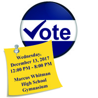Marcus Whitman Capital Project Vote Wednesday