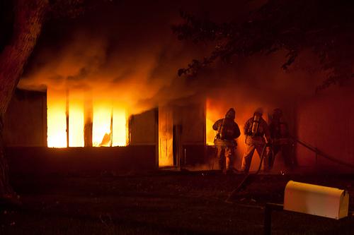 Fire Destroys Seneca Falls Vacation Home