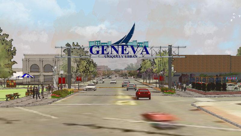 Geneva Scraps Plans for Arch Sign