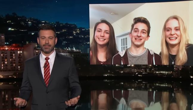 Video Lands Cayuga County Students On Jimmy Kimmel Live