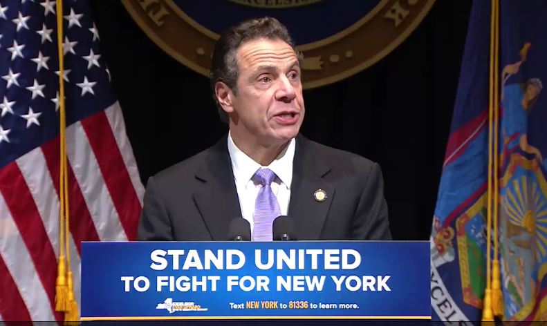 Cuomo Introduces $618B Spending Plan For FY 2019