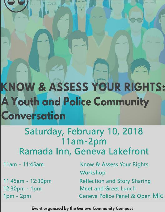 Geneva Youth And Police To Hold A Community Conversation