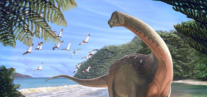 Waterloo Native & Hobart Grad Discovers New Dinosaur