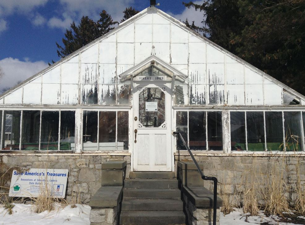 Parks and Trails NY Grant for Canandaigua Greenhouse Project