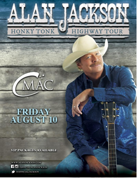 Country Music Legend Alan Jackson Coming to CMAC