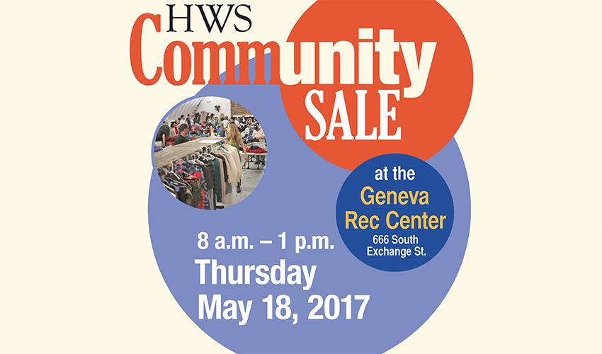 Bargains Galore At HWS Community Sale